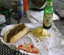 Cheesesteak wid provolone 'n onions