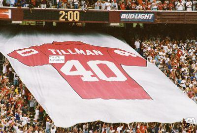 Pat Tillman's jersey retired