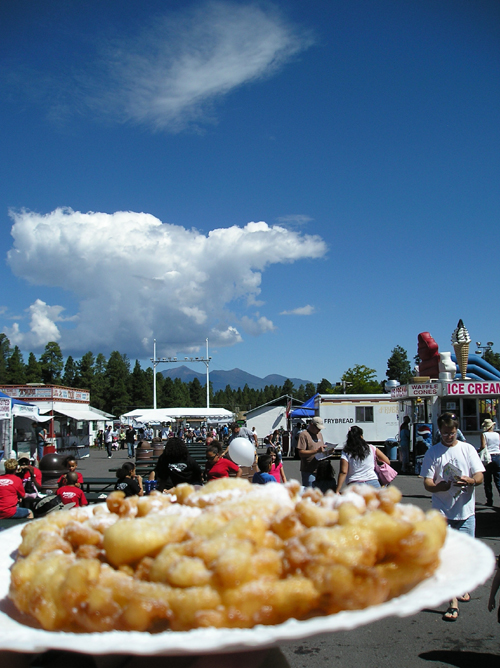 Funnel Cake and a big blue sky…