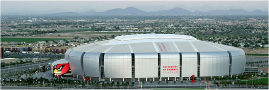 University of Phoenix Stadium. Glendale, Arizona