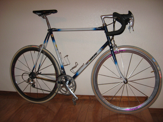 LeMond with 8 speed Chorus
