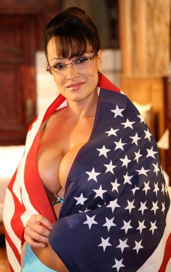 Lisa Ann as Sarah Palin.  God Bless America.