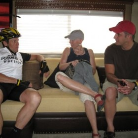 LA had the priveledge of meeting Colleen last spring at the Gila.