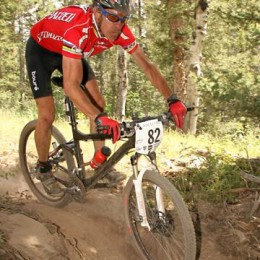 Ned Overend shows excellent form
