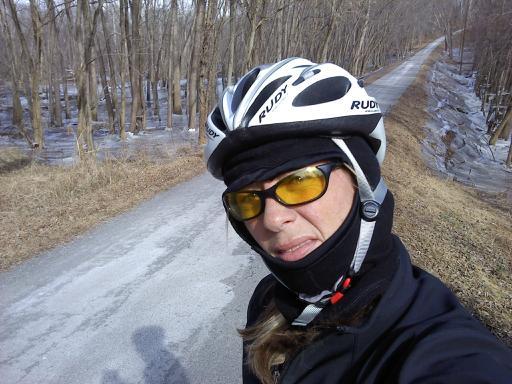 58 mile ride