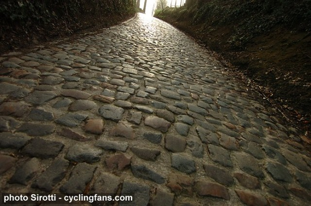 The blessed cobbles call...