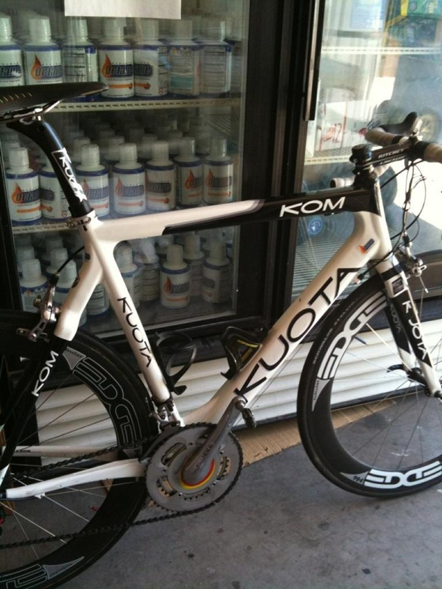 Snake's 2010 Arizona State Road Race Champion Rig