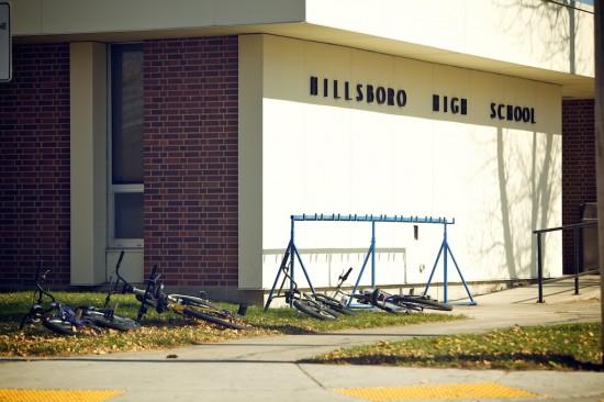 kids in North Dakota don't lock their bikes up