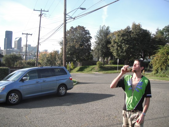 Silas is a Seattle drunk cyclist