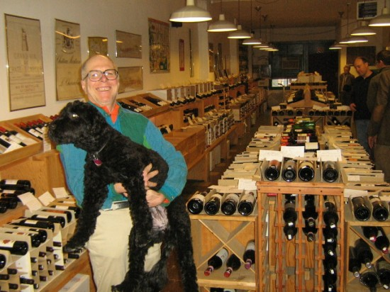 Author and wine merchant Doug Nufer