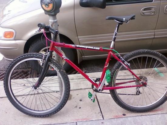 My commuter beater bike