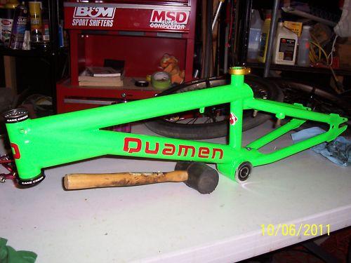 Quamen Clad G5 Flatland BMX Frame