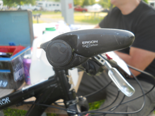 Ergon grips are a fucking GODSEND.