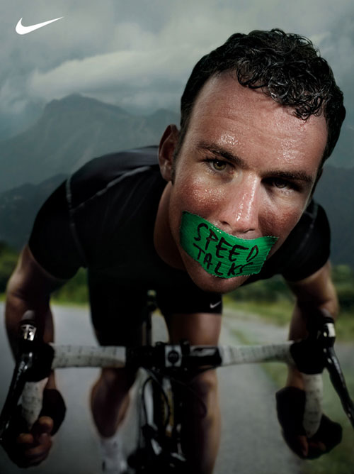 Cav Speed Talks Nike Poster