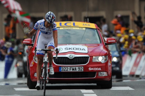 Jeremy Roy Stage 13 Tour de France 2011