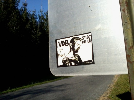 VDB has a posse in Uhlerstown.