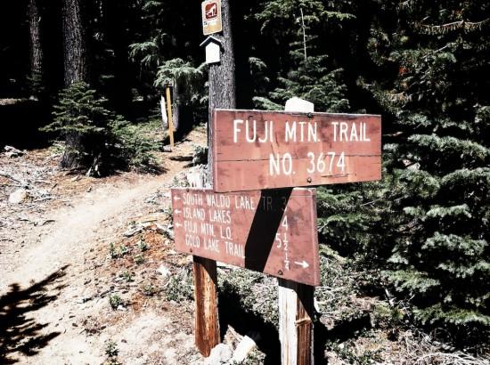 Fuji MTN trail