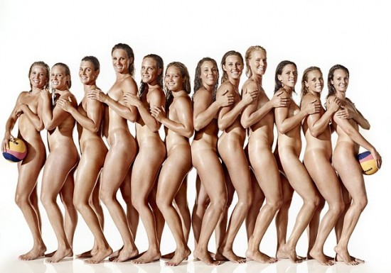 America's women's water polo team