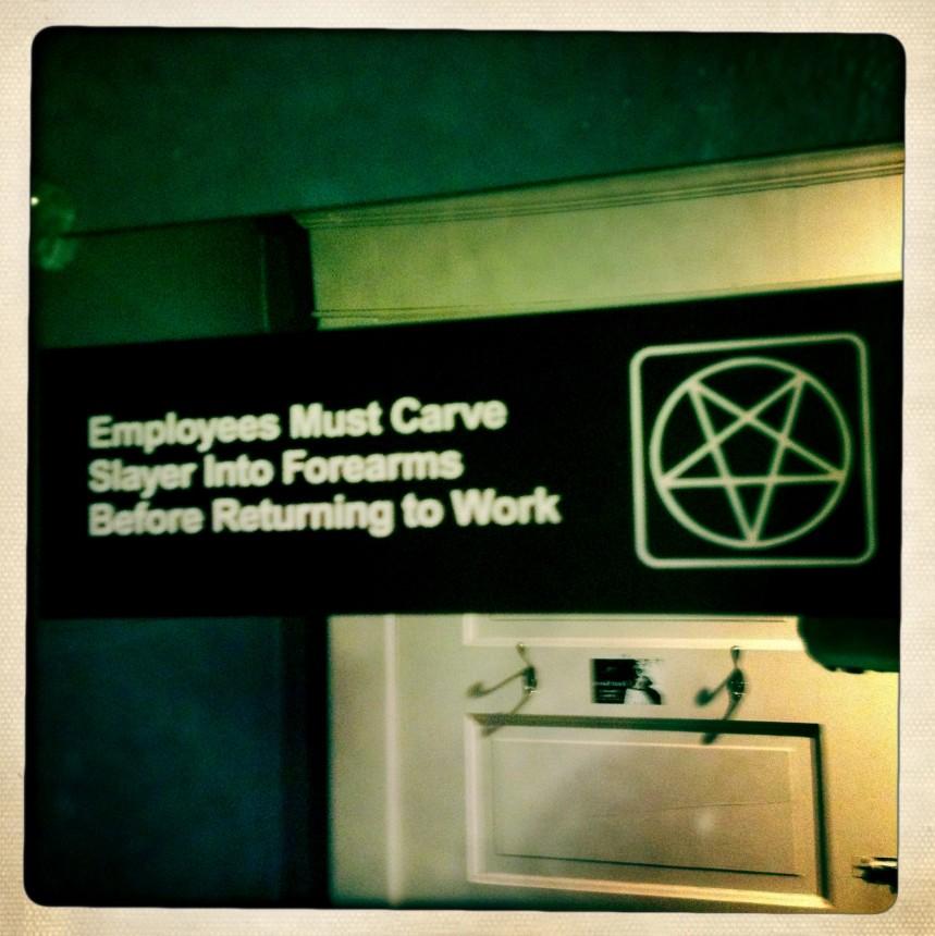 Employee notice