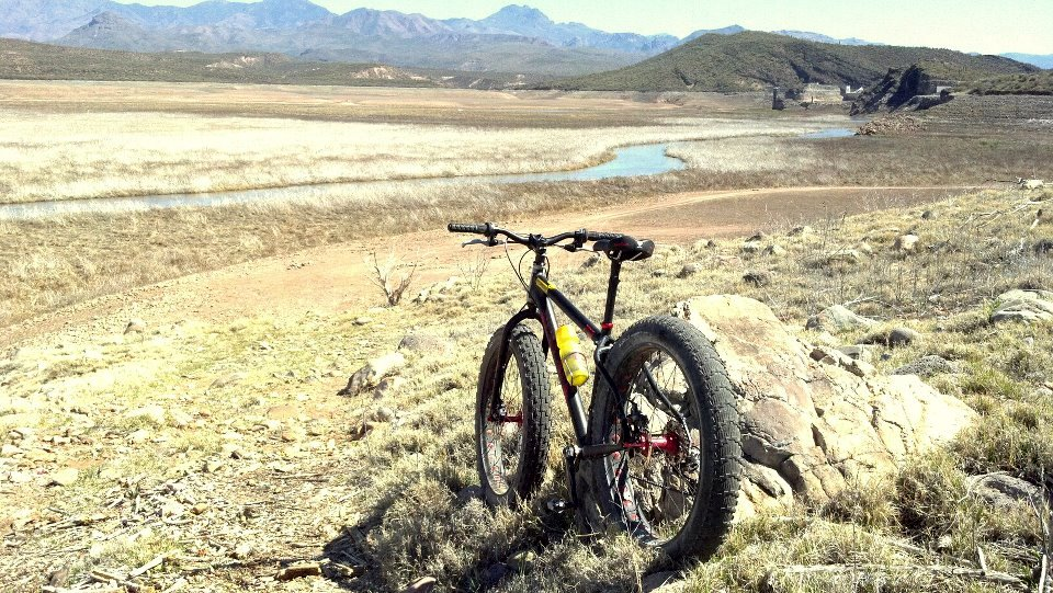 fat tires and dry lakes