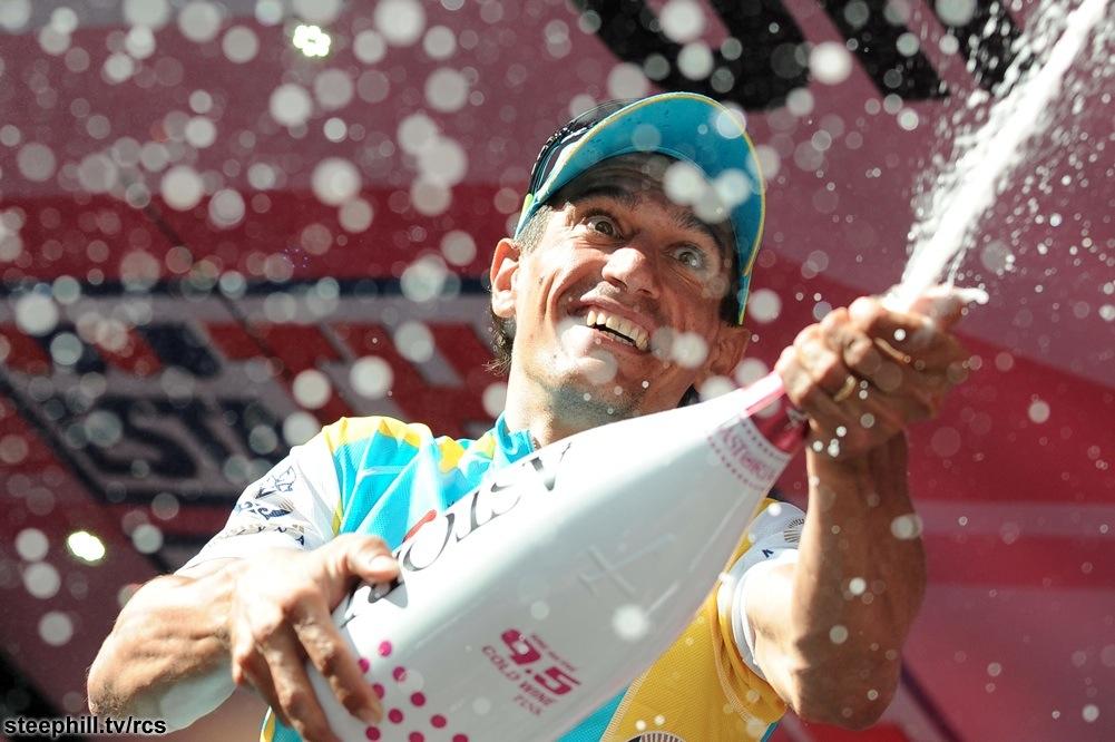 Giro d' Italia 2012 - Arrivo Settima tappa