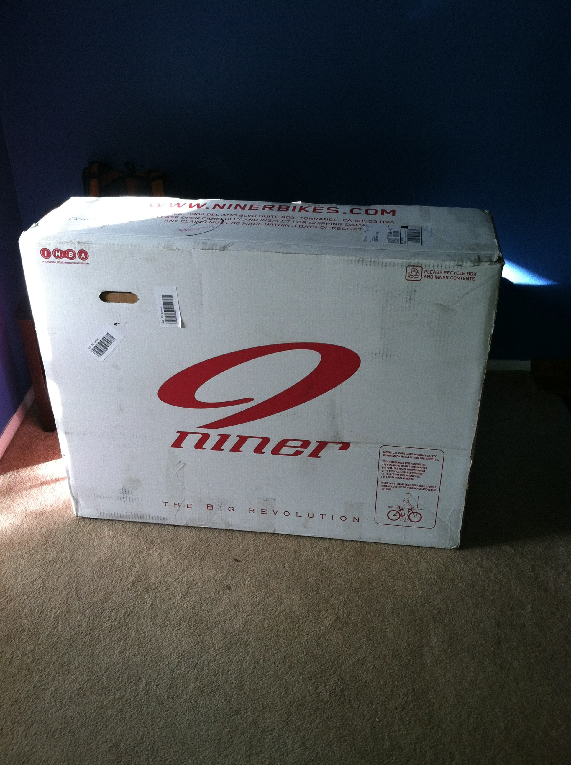 I love it when boxes like this one show up on my doorstep.
