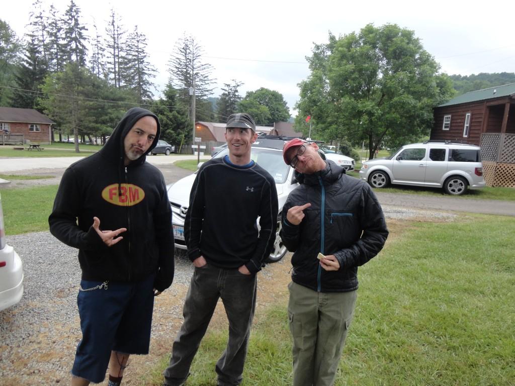 My camping buddies