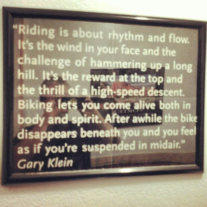 As seen at Over The Edge bike shop in Sedona,AZ