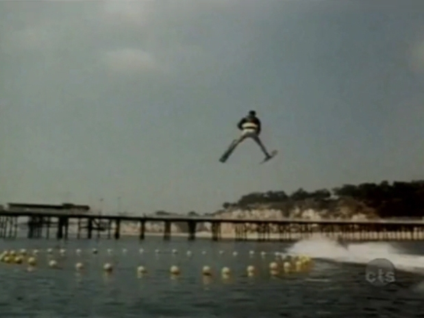 Fonzie jumping over the shark on Happy Days 02