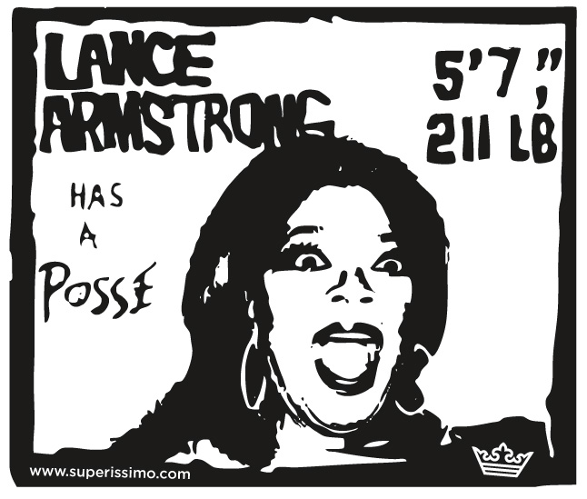 Lance Armstrong Has A Posse