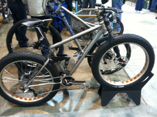 Dual Suspension Fat Bike by Ti Cycles