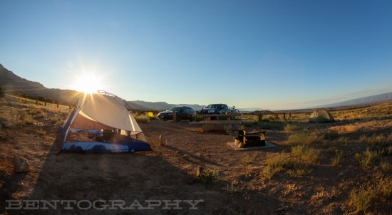 camp for riding.