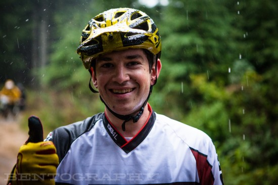 Charlie Sponsel is 100% positive with bike stoke