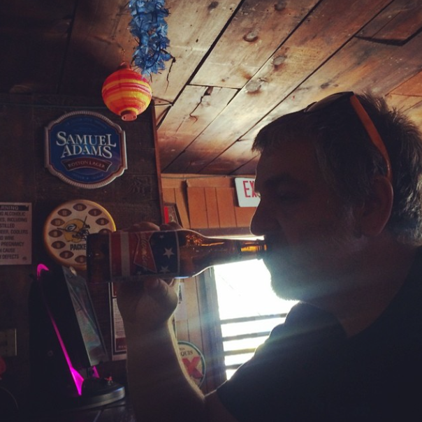 """""""There's something about a nice cold longneck after a hot ride."""" - Dirty"""