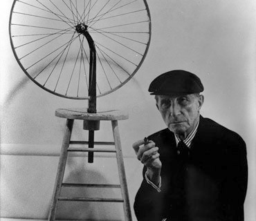 a-duchamp-wi-seminal-b-wheel-and-stool