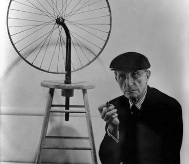 a-duchamp-wi-seminal-b-wheel-and-stool