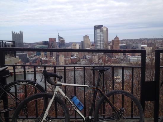 Steel City, as seen from Mt. Washington.