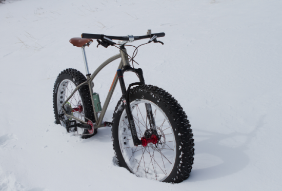 Meriwether Cycles Fat Bike for Drunkcyclist