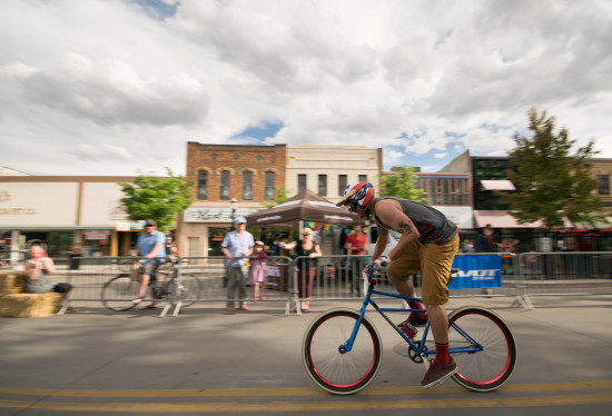 The winner of the klunker crit clearly not fucking around