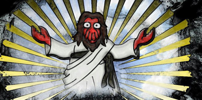 lobster jesus